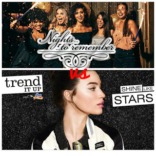 Limited Edition Rossmann Rival de Loop Nights to remember vs. dm Trend it up Dazzling Dust