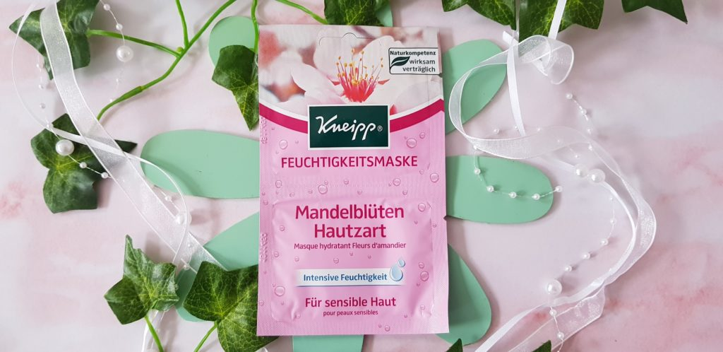 Kneipp Mandelblüten Hautzart Feuchtigkeitsmaske